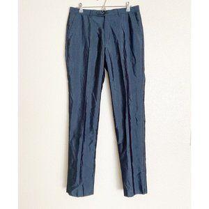 John Varvatos Pearl Gray Unhemmed Dress Pants W34
